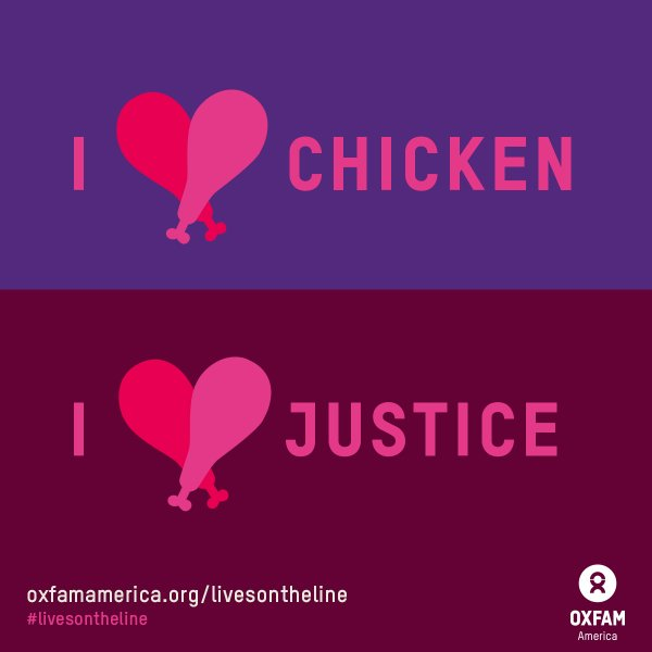 chicken and justice